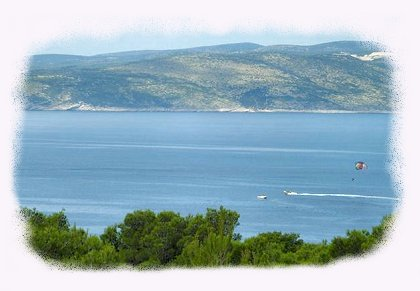 Picture of Baska Voda Bay on the Makarska Riviera